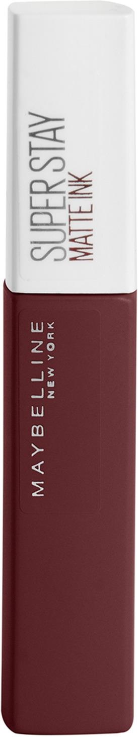 Помада для губ жидкая Maybelline New York Super Stay Matte Ink City Edition, матовая, оттенок 112, Композитор, 5 мл цена