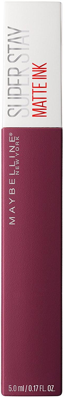 Помада для губ жидкая Maybelline New York Super Stay Matte Ink, матовая, оттенок 40, Сторонние, 5 мл цена