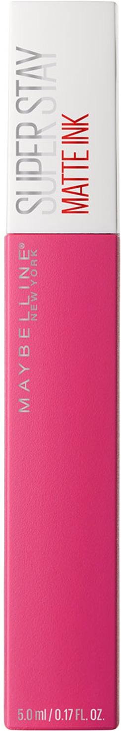 Помада для губ жидкая Maybelline New York Super Stay Matte Ink, матовая, оттенок 30, Романтик, 5 мл цена