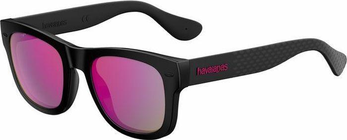 Очки солнцезащитные Havaianas, HAV-223843QFU50VQ, розовый, черный