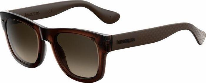 Очки солнцезащитные Havaianas, HAV-223843QGL50J6, коричневый, белый