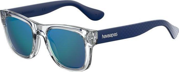 Очки солнцезащитные Havaianas, HAV-223843QM450Z0, голубой, коричневый
