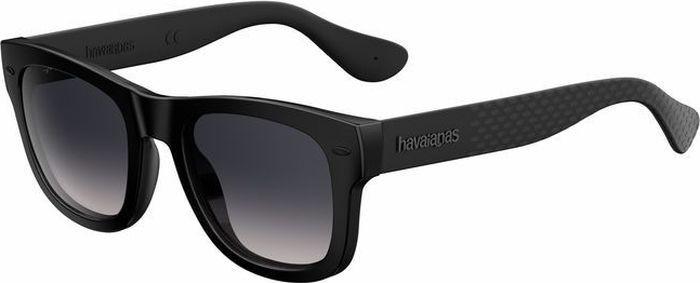Очки солнцезащитные Havaianas, HAV-223843QFU50LS, серый, черный