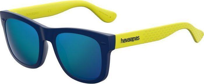Очки солнцезащитные Havaianas, HAV-22384022O48Z0, голубой, черный