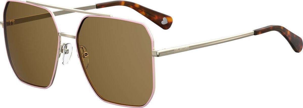 Очки солнцезащитные Moschino Love очки солнцезащитные love moschino love moschino lo416dwcwpb3