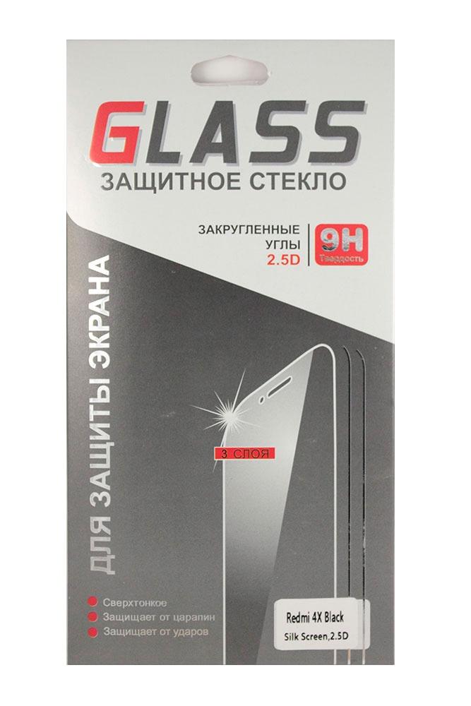 Защитное стекло Xiaomi Redmi 4X (черная рамка), черный шапка the north face the north face th016cwcnue9