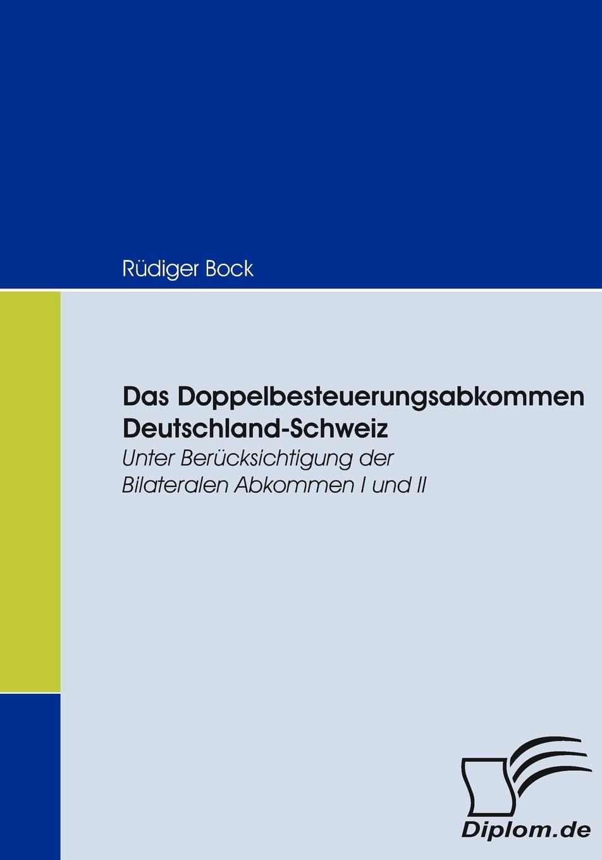 Rüdiger Bock Das Doppelbesteuerungsabkommen Deutschland-Schweiz friedrich meili theologische zeitschrift aus der schweiz 1894 vol 11 classic reprint