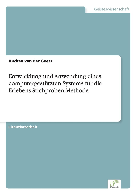 Andrea van der Geest Entwicklung und Anwendung eines computergestutzten Systems fur die Erlebens-Stichproben-Methode мебель esf