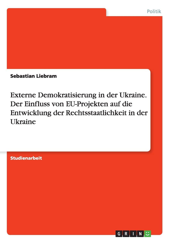 Externe Demokratisierung in der Ukraine. Der Einfluss von EU-Projekten auf die Entwicklung der Rechtsstaatlichkeit in der Ukraine. Sebastian Liebram