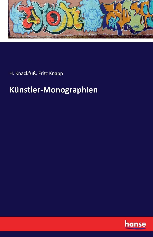 H. Knackfuß, Fritz Knapp Kunstler-Monographien