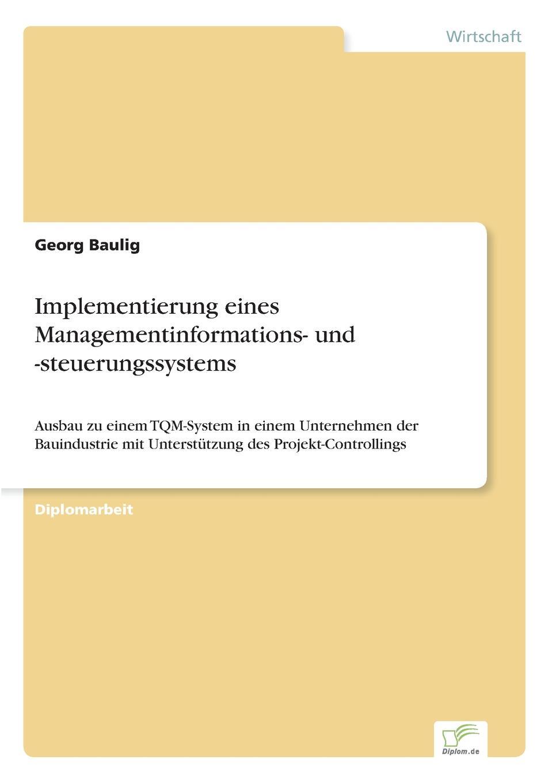 Implementierung eines Managementinformations- und -steuerungssystems ...