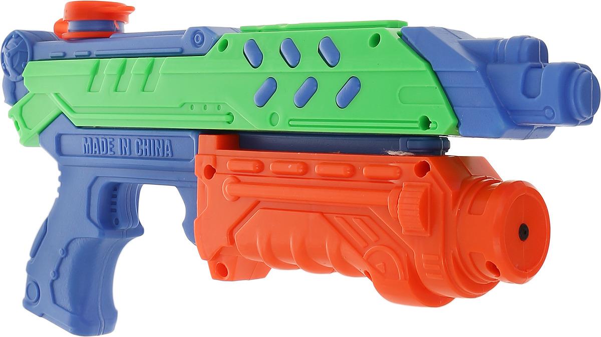 Игрушечное оружие 1TOY Аквамания Водяной бластер, помповый, Т59455, 37 см цена