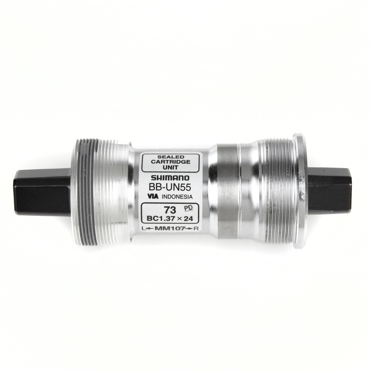 Каретка Shimano UN55, 73/107 мм, без болтов, EBBUN55C07 50n 5kg 11lb measuring tools protable economical digital push pull force gauge meter dynamometer