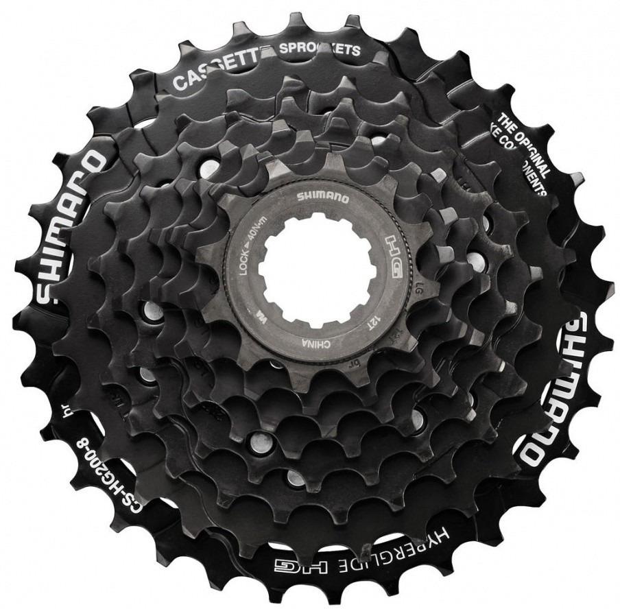 цена на Кассета для велосипеда Shimano HG200, 9 скоростей, 11-32, ECSHG2009132