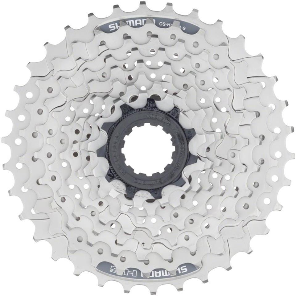 цена на Кассета для велосипеда Shimano HG201, 9 скоростей, 11-34, ECSHG2019134, серебристый