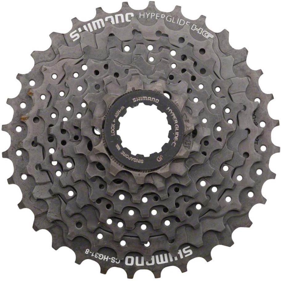 Кассета для велосипеда Shimano HG31, 8 скоростей, 11-34, ECSHG318134