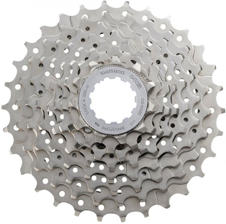 Кассета для велосипеда Shimano HG50, 8 скоростей, 11-30, ECSHG508130P