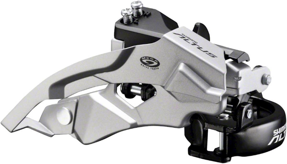 Переключатель передний Shimano Altus, M370, 3x9 скоростей, EFDM370X6