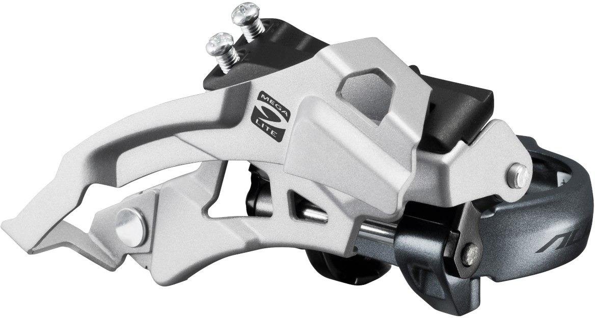 Переключатель передний Shimano Alivio, M4000, для 3x9 скоростей, EFDM4000MX6 цена 2017