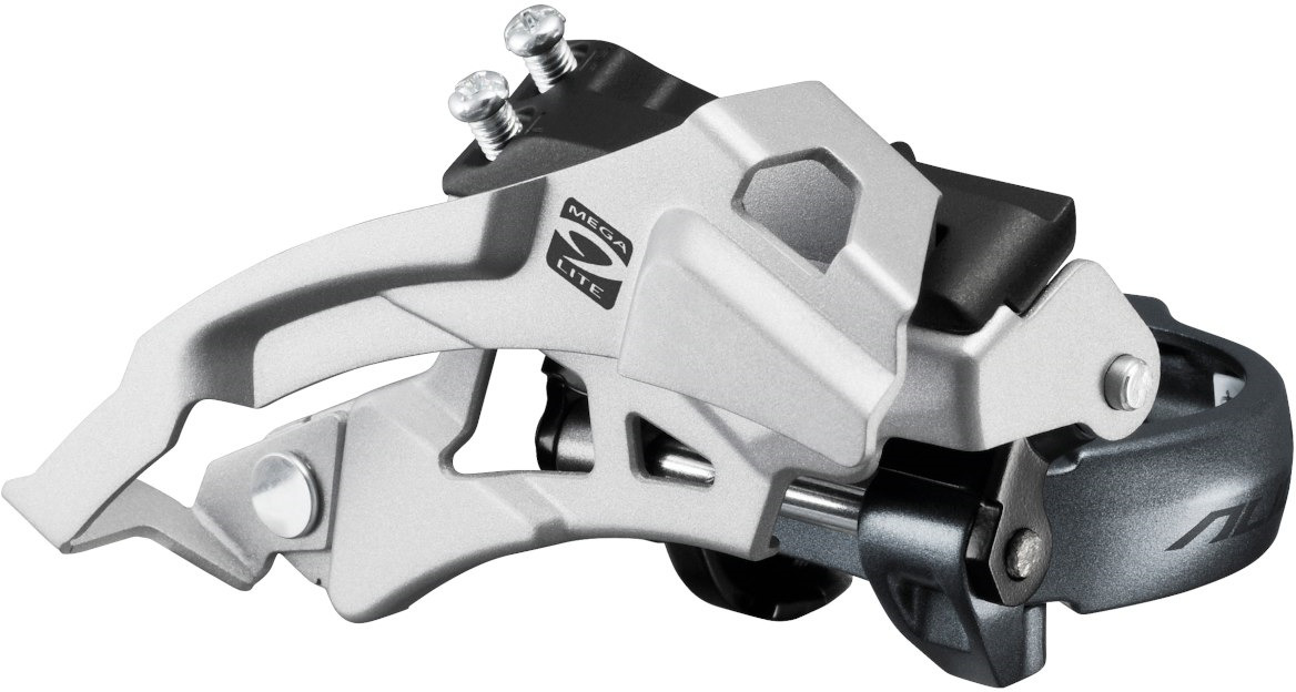 Переключатель передний Shimano Alivio, M4000, для 3x9 скоростей, EFDM4000MX6 запчасть shimano передняя alivio для fc m430 8 y1m098080
