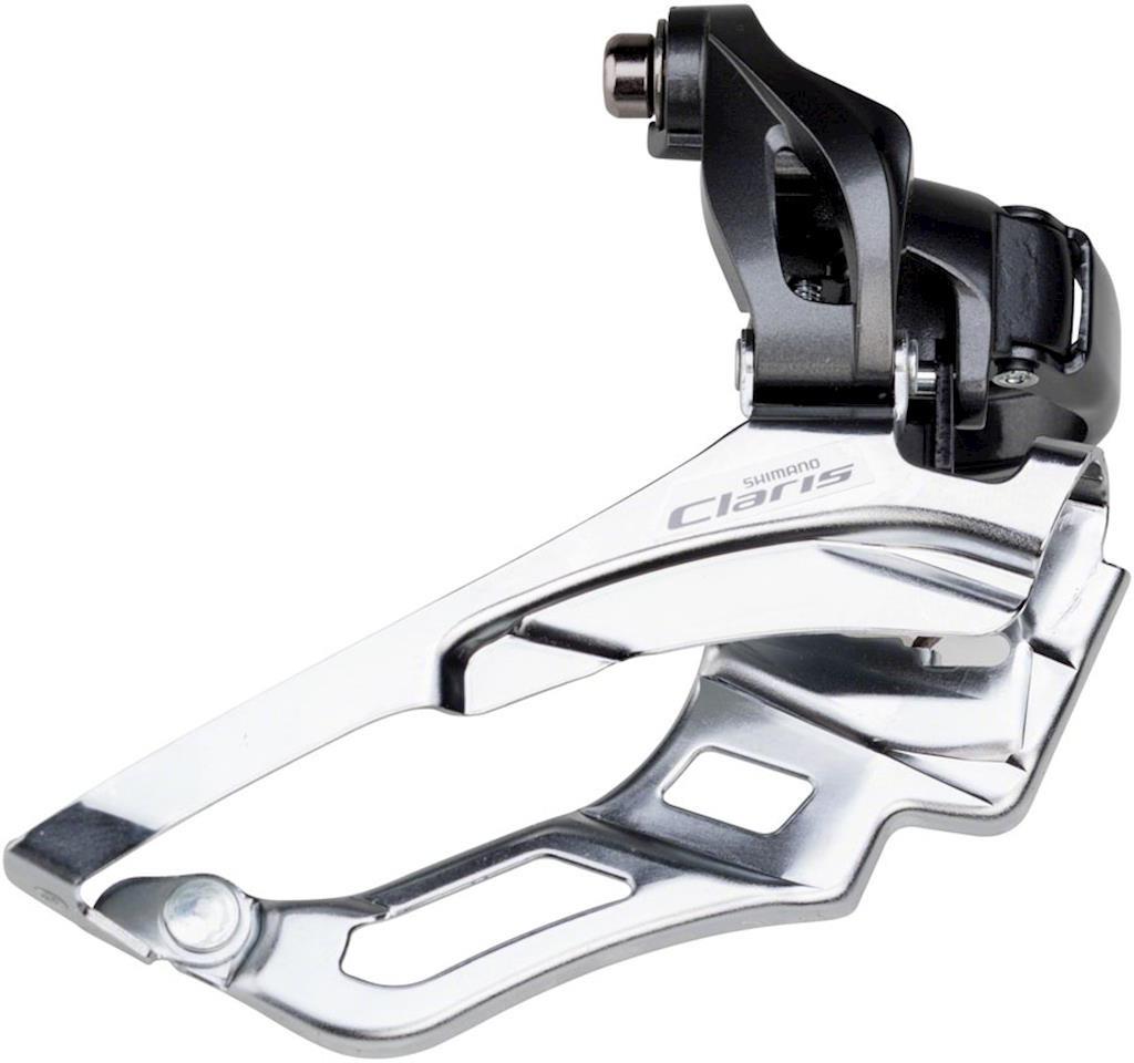 Переключатель передний Shimano Claris, R2030, 3x8 скоростей, 34,9, EFDR2030X microshift mtb group ts83 8 trip 3x8 speed fd r42f rd r32s front rear derailleur road bicycle components compatible for shimano
