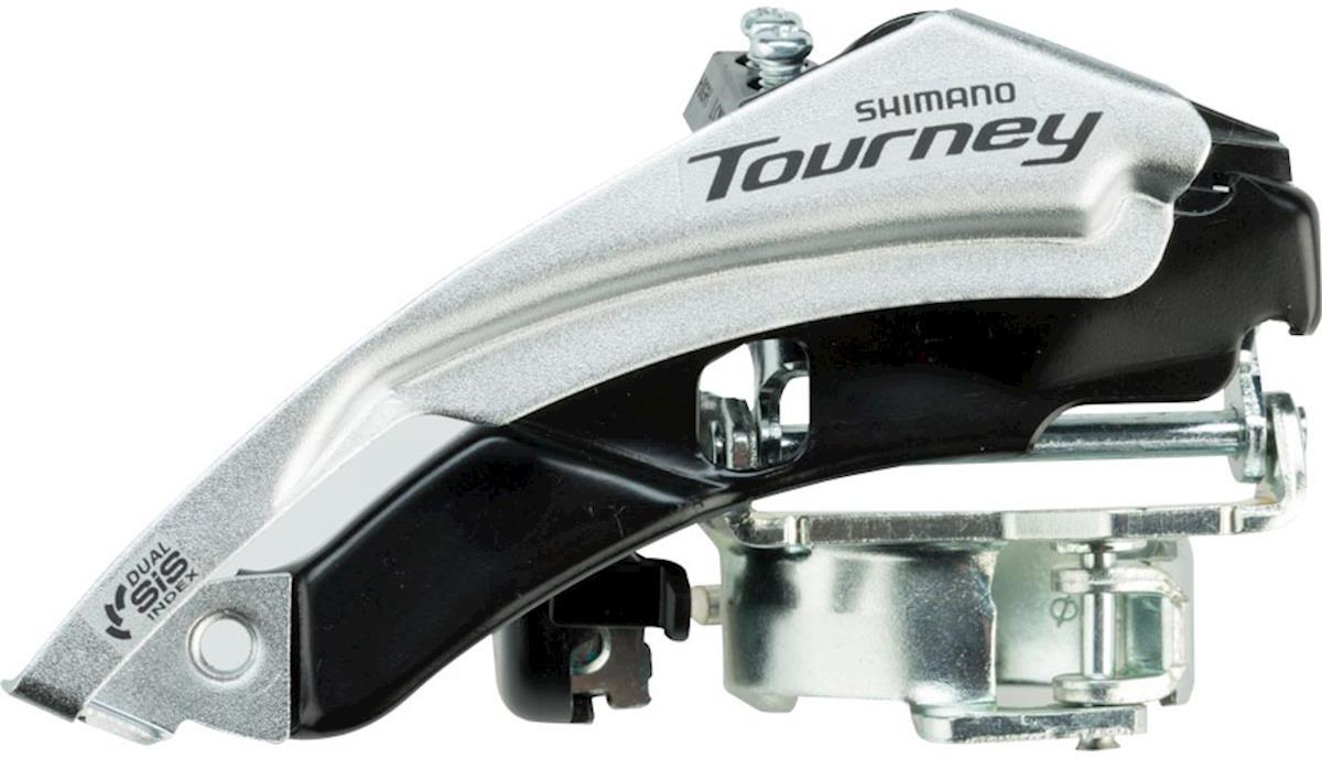 Переключатель передний Shimano ShimanoTourney, TY500, 6/7 скоростей, угол 66-69, для 42T, EFDTY500TSX6