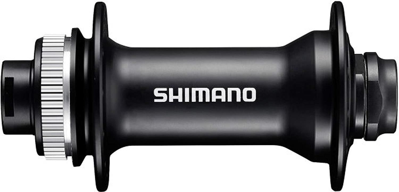 Втулка передняя Shimano MT400, 36 отверстий, OLD:110 мм, под полую ось 15 мм, под диск C.Lock, EHBMT400BA, черный
