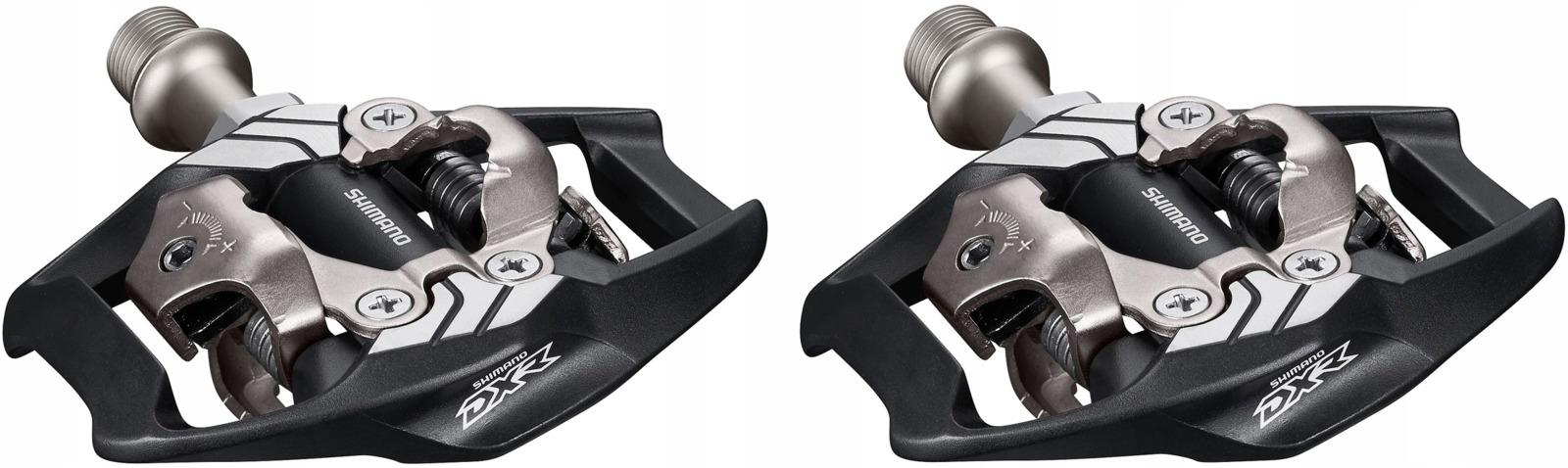 Педали Shimano DXR, MX70, SPD, с шипами SH51, EPDMX70