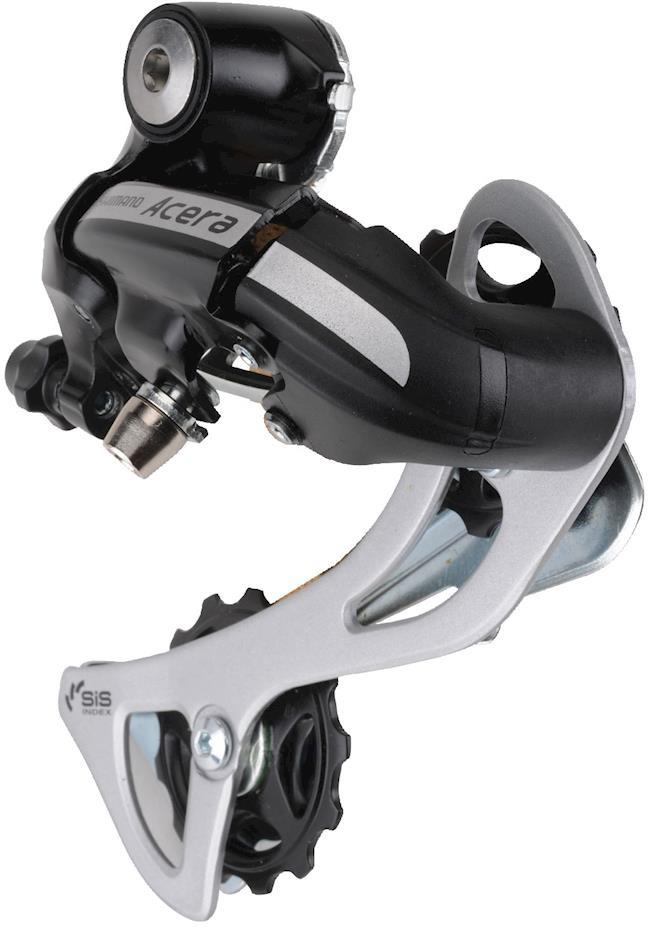 Переключатель задний Shimano Acera, M360, SGS, 7/8 скоростей, ERDM360SGSL, черный цены онлайн