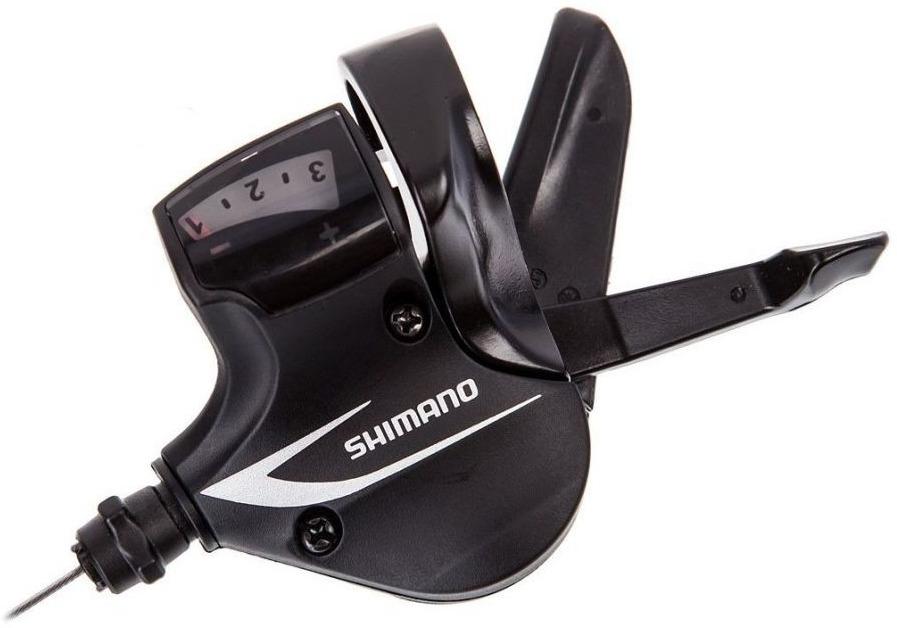 Шифтер Shimano Acera, M360, левый 3 скоростей, трос 1800 мм, ESLM360LBT shimano deore m590 лев пр 3x9ск тр оплетк