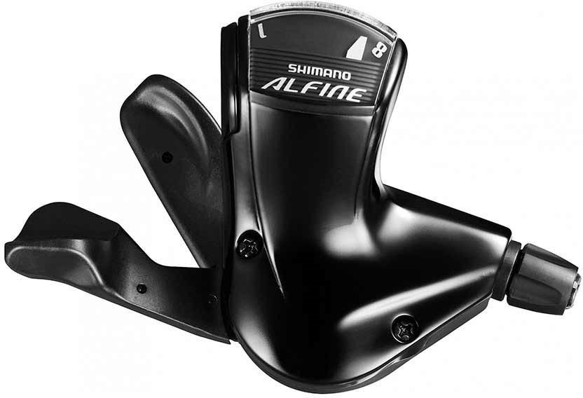 Шифтер Shimano Alfine, S7008, 8 скоростей, трос с оплеткой, для СJ-S7000-8, ESLS70082100LL3