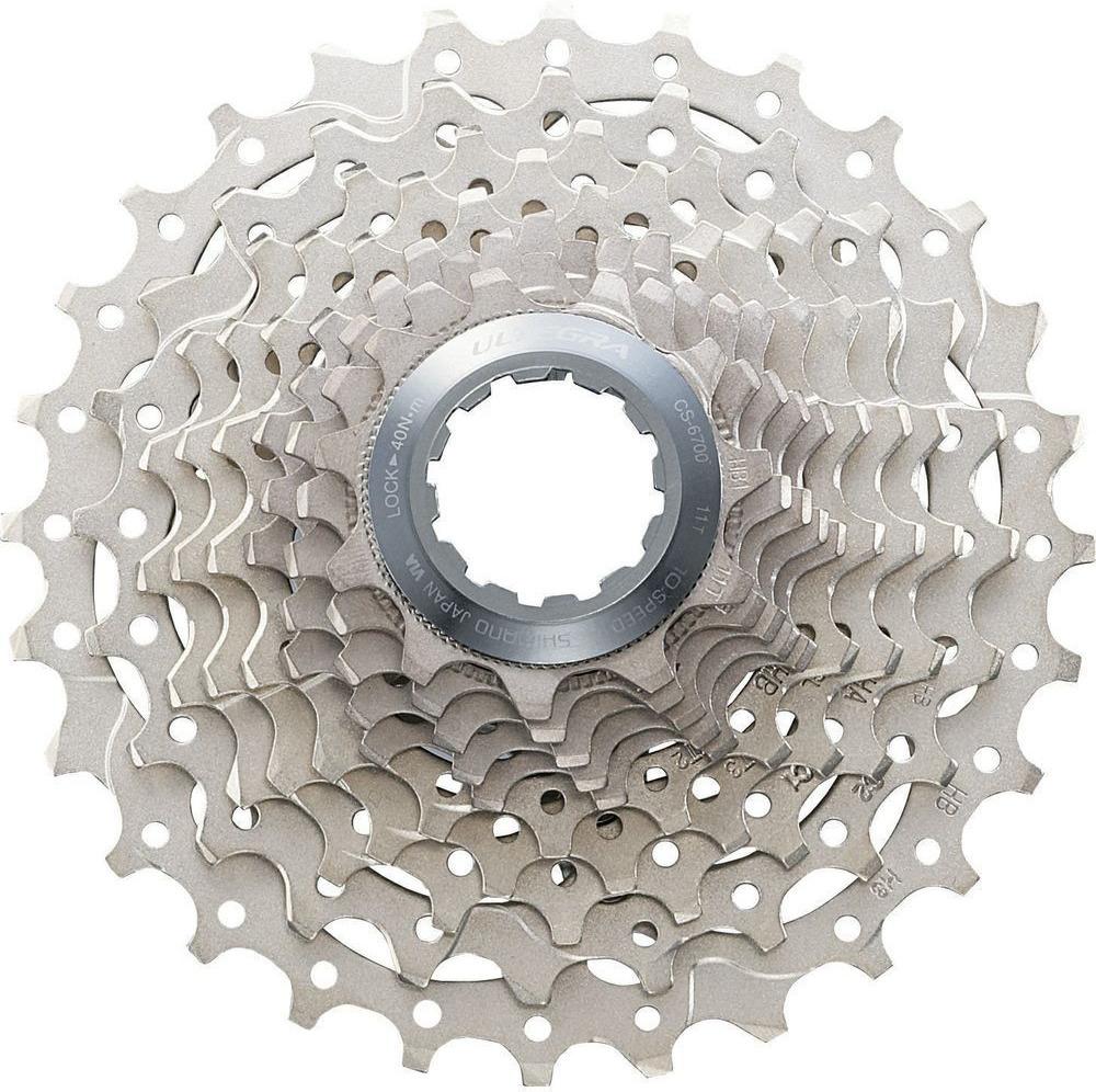 Кассета для велосипеда Shimano Ultegra, 6700, 10 скоростей, 11-28, ICS670010128
