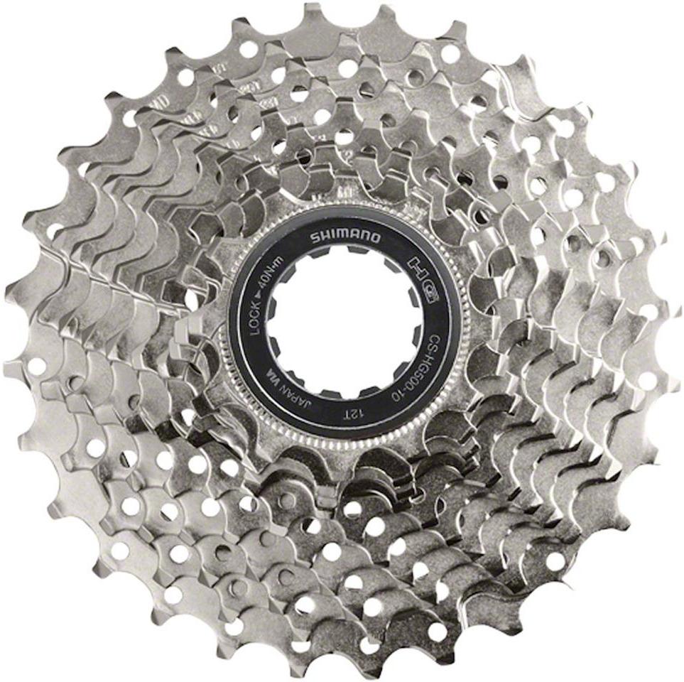 Кассета для велосипеда Shimano HG500, 10 скоростей, 11-32, ICSHG50010132 shimano sienna 4000 fe