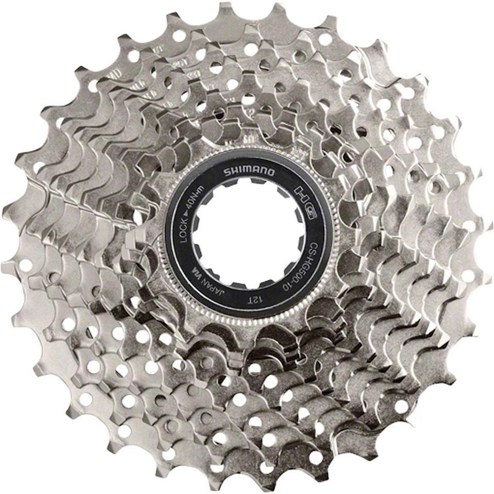Кассета для велосипеда Shimano HG500, 10 скоростей, 11-34, ICSHG50010134 запчасть shimano xt m771 10ск 11 36 icsm77110136