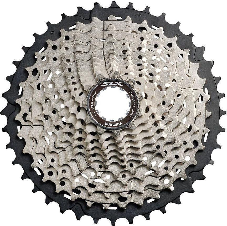 Кассета для велосипеда Shimano SLX, M7000 11 скоростей, 11-13-15-17-19-21-24-28-32-37-46, ICSM7000146