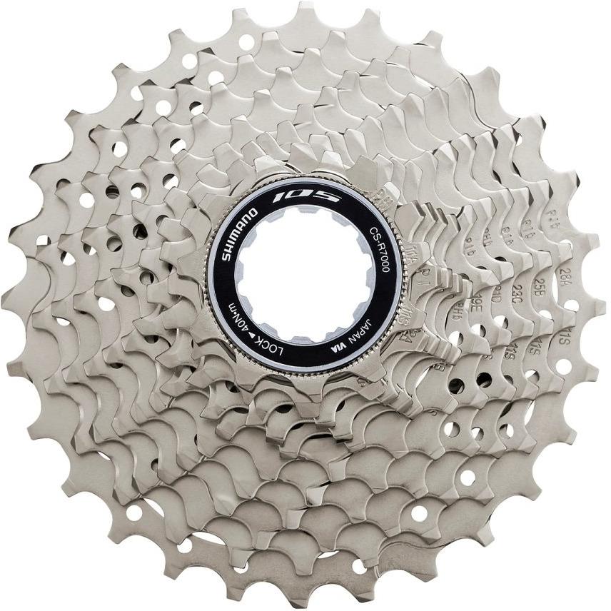 Кассета для велосипеда Shimano 105, R7000, 11 скоростей, 11-30, ICSR700011130