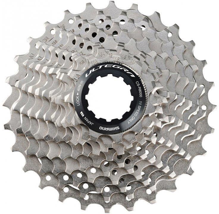 Кассета для велосипеда Shimano Ultegra, R8000, 11 скоростей, 11-28, ICSR800011128 запчасть shimano ultegra r8000 gs 11ск irdr8000gs