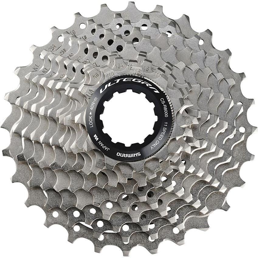 Кассета для велосипеда Shimano Ultegra, R8000, 11 скоростей, 12-25, ICSR800011225