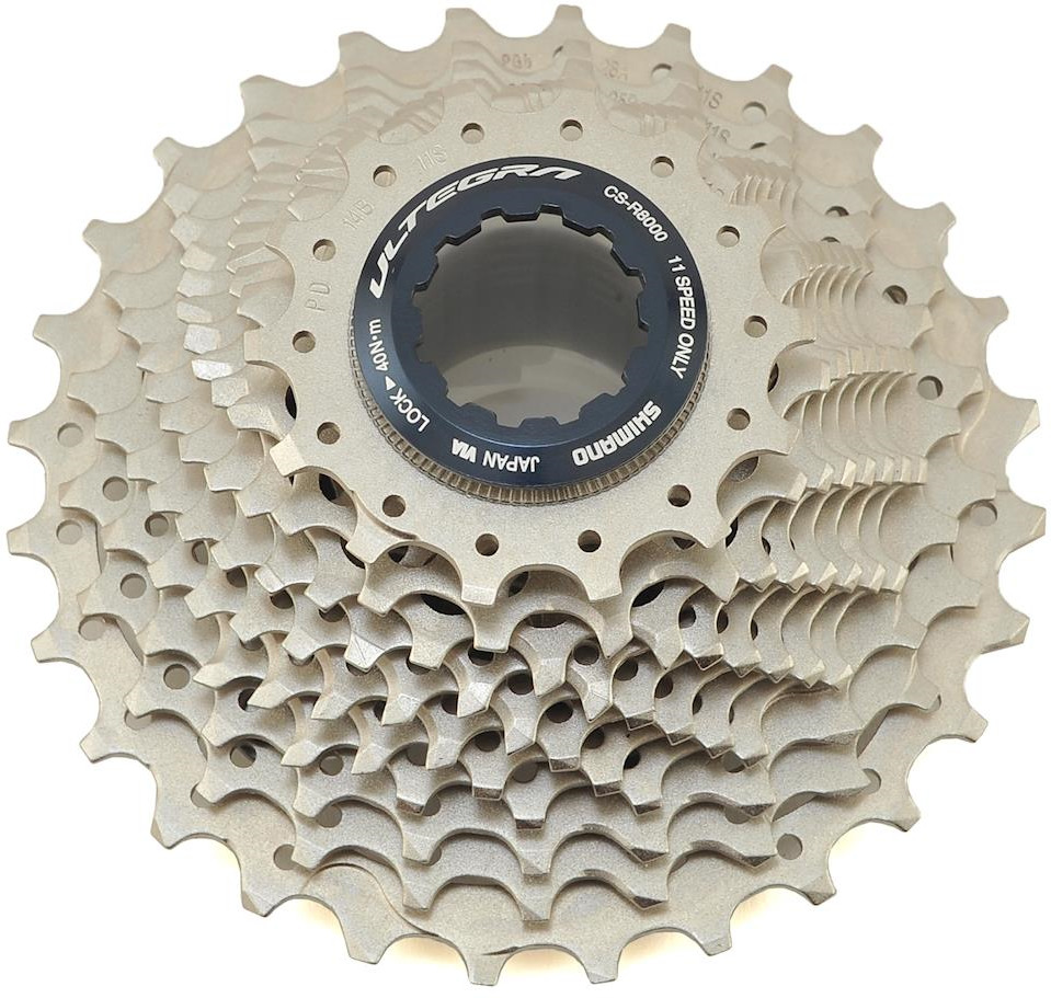 Кассета для велосипеда Shimano Ultegra, R8000, 11 скоростей, 14-28, ICSR800011428 запчасть shimano ultegra r8000 gs 11ск irdr8000gs