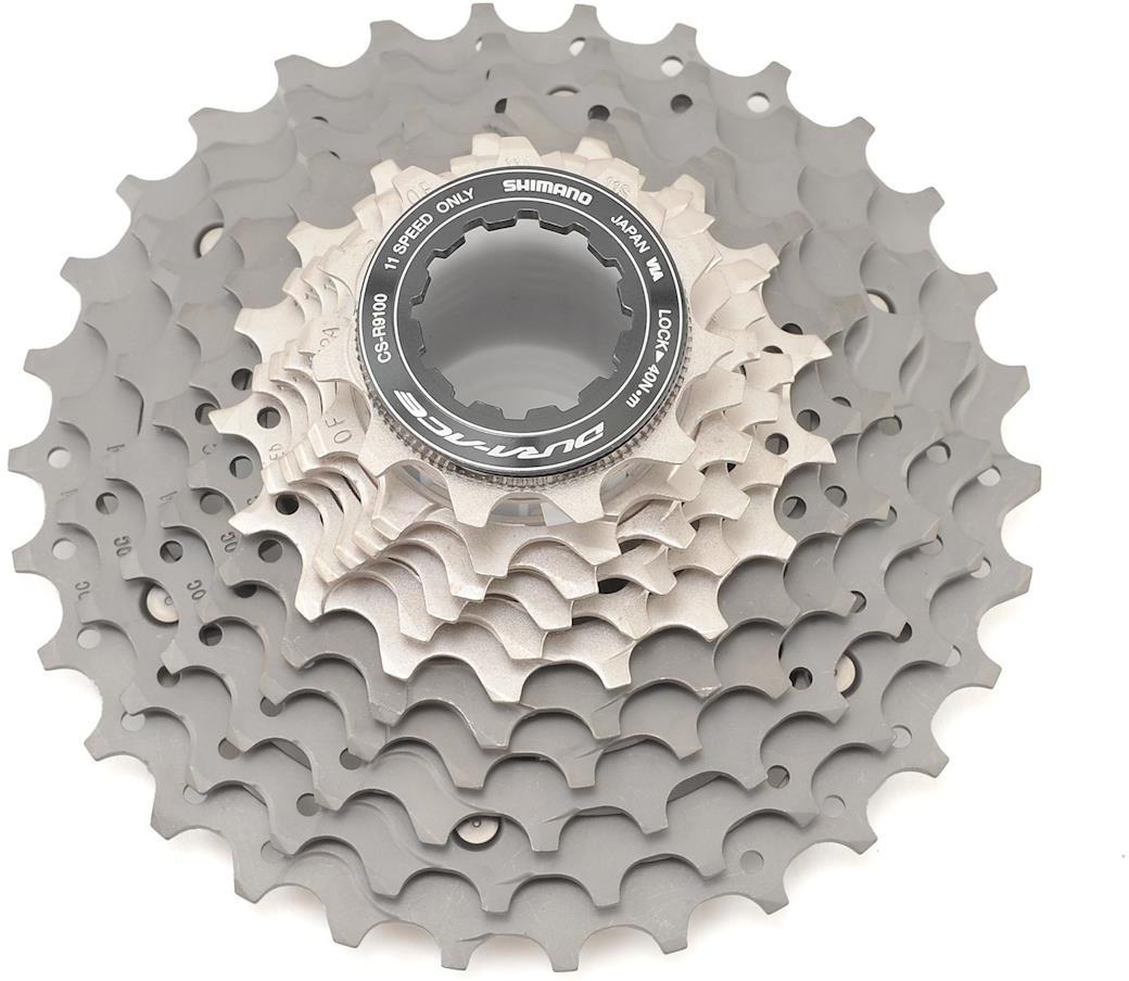 Кассета для велосипеда Shimano Dura-Ace, R9100, 11 скоростей, 11-30, ICSR910011130 запчасть shimano dura ace r9100 175 мм 52 36t