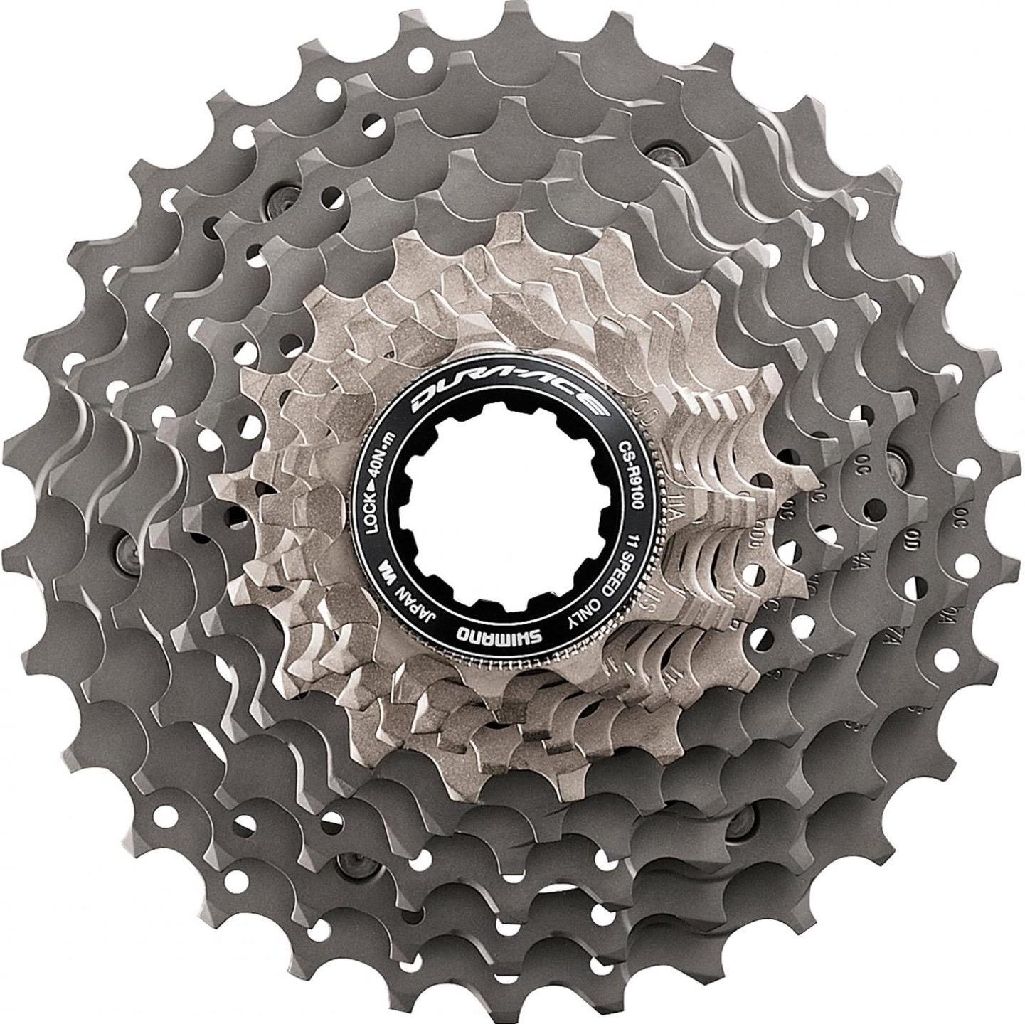 Кассета для велосипеда Shimano Dura-Ace, R9100, 11 скоростей, 12-28, ICSR910011228 запчасть shimano dura ace r9100 icsr910011225