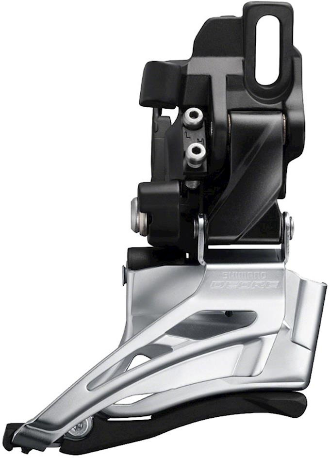 Переключатель передний Shimano Deore, M6025-D, для 2X10, IFDM6025D6