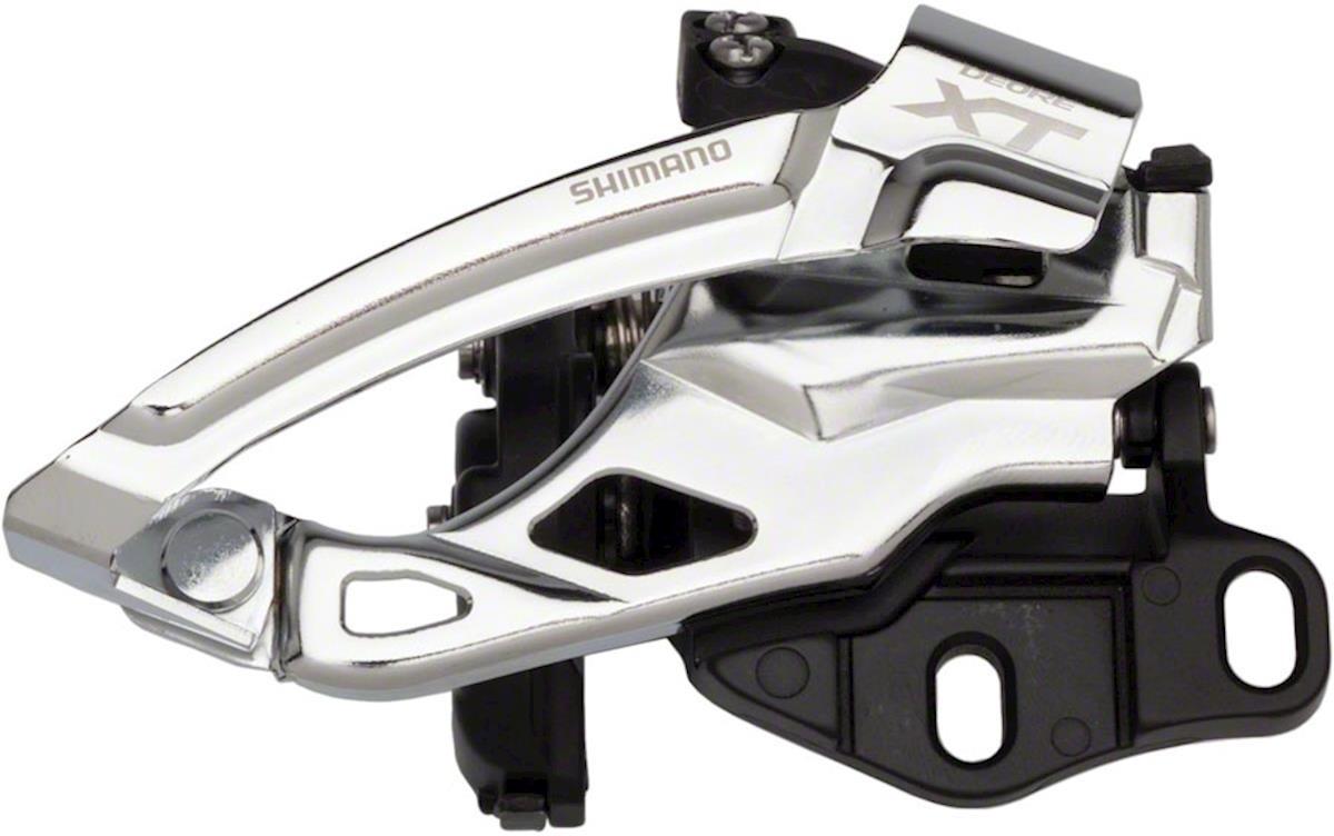 Переключатель передний Shimano XT, M785-E2, E-тип, для 40-38T, без BB пластины, IFDM785E26X