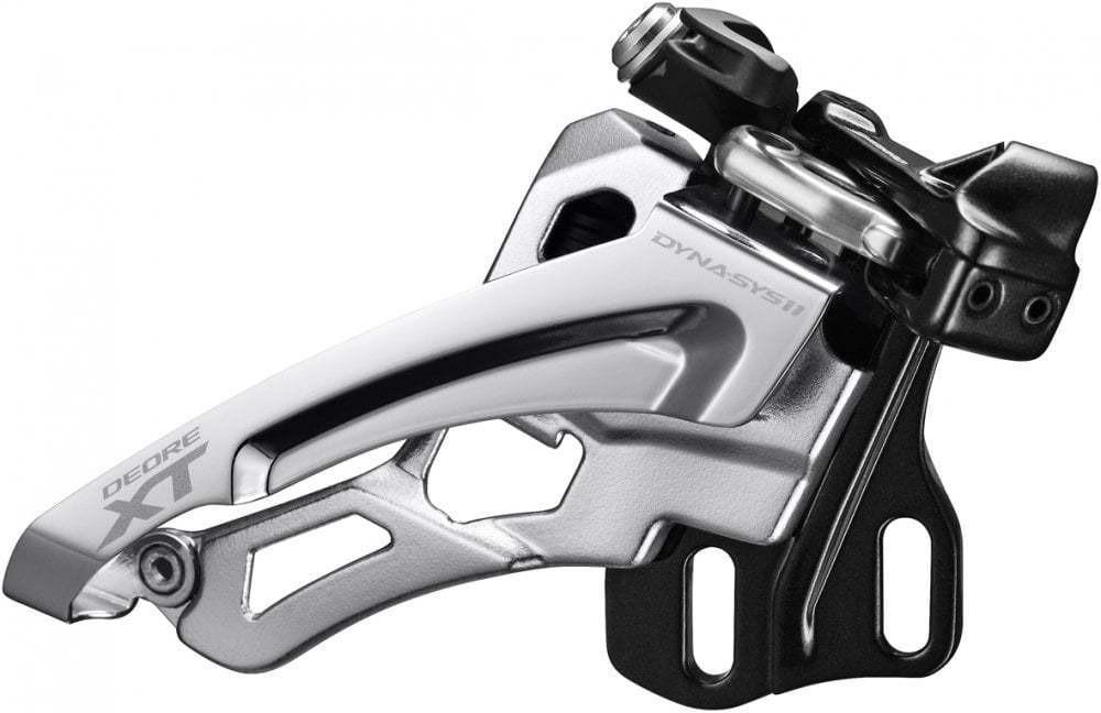 Переключатель передний Shimano XT, M8000-E, E тип без BB пластины, для 3X11, IFDM8000E6X