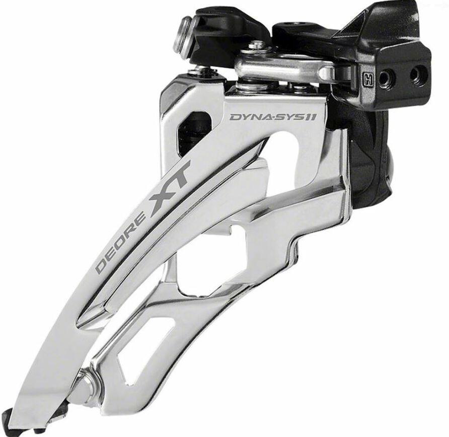 Переключатель передний Shimano XT, M8000-L, для 3x11, IFDM8000LX6
