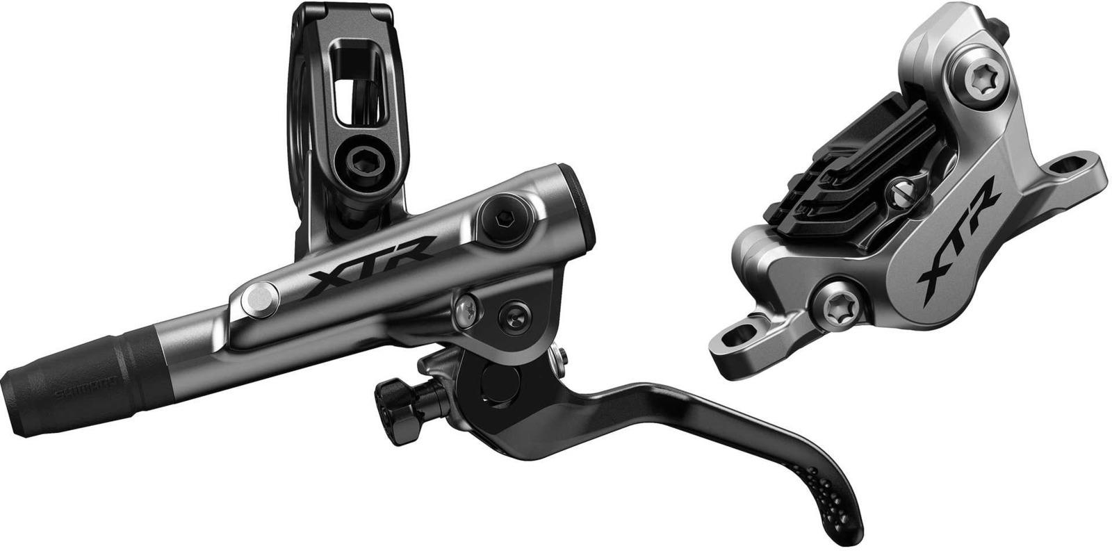 Тормоз для велосипеда Shimano XTR, M9120, BL левый/BR передний, полимерные колодки с кулером, 1000 мм, IM9120KLFPSA100