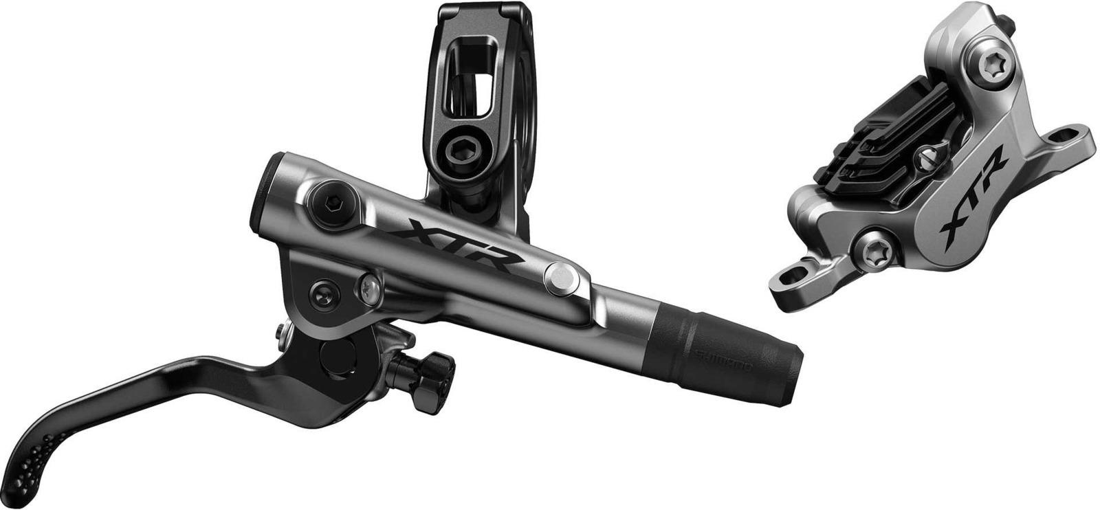 Тормоз для велосипеда Shimano XTR, M9120, BL правый/BR задний, металлические колодки с кулером, 1700 мм, IM9120KRRXNA170