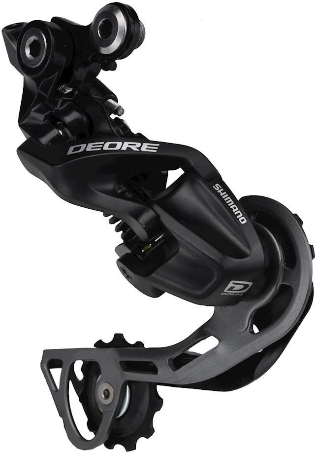 Переключатель задний Shimano Deore, M610, GS, 10 скоростей, IRDM610GSL, черный велосипед haibike sduro hardseven 4 0 500wh 10 g deore 2019