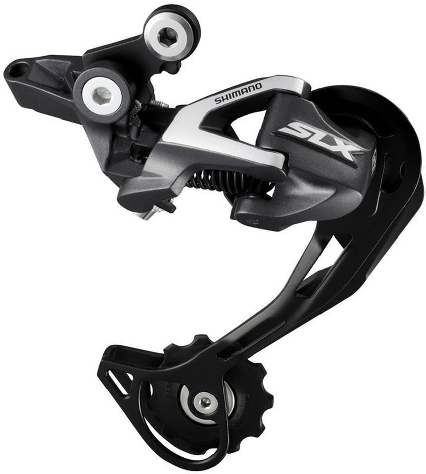 Переключатель задний Shimano SLX, M670, SGS, 10 скоростей, IRDM670SGS переключатель задний shimano altus m370 sgs 9 скоростей цвет черный