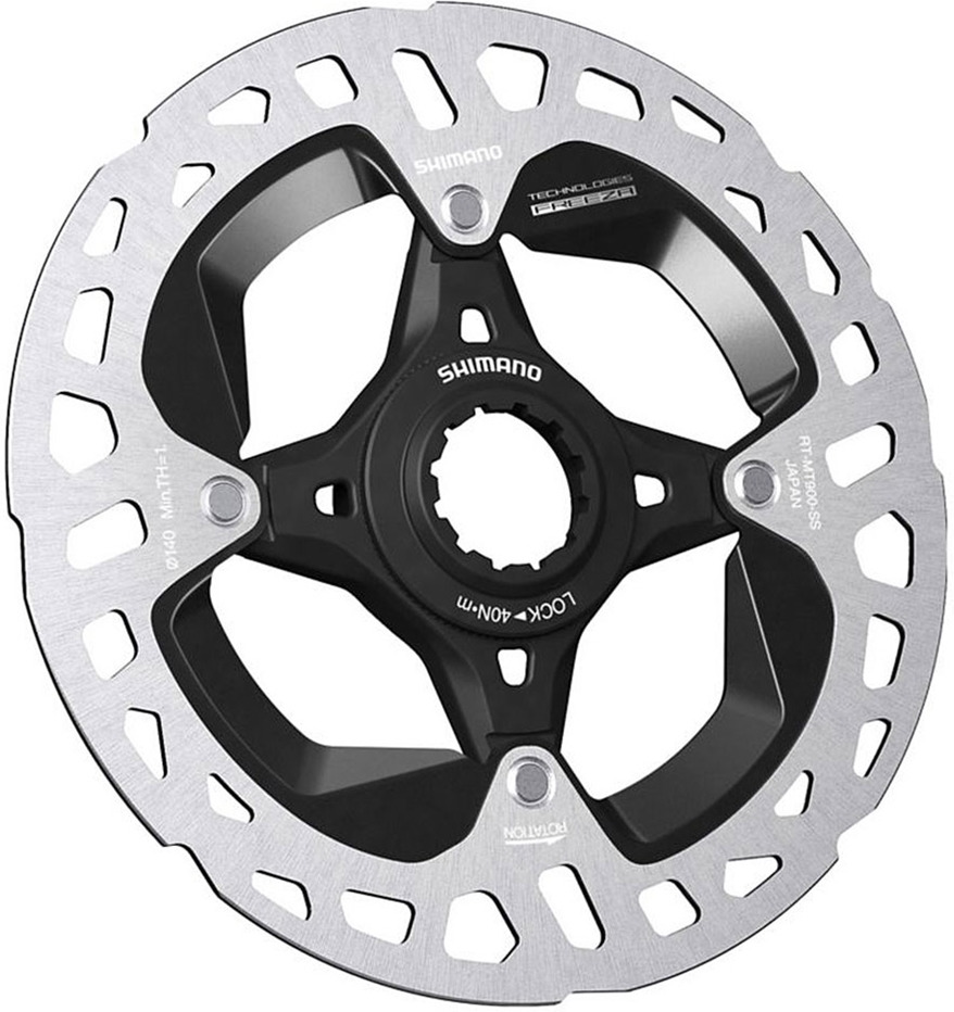 Тормозной диск для велосипела Shimano XTR, MT900, 140 мм, C.Lock, с lock ring, IRTMT900SS запчасть shimano mt15 29 c lock